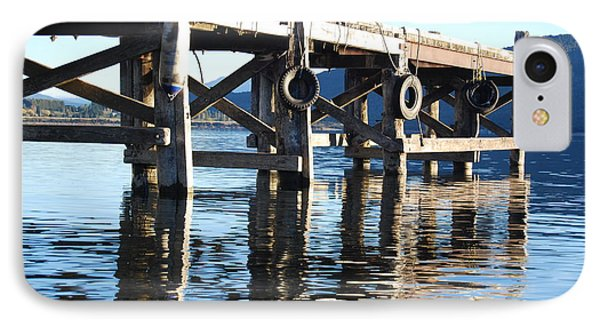 Te Anau Pier IPhone Case