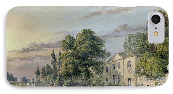 Tea At Englefield Green IPhone Case by Paul Sandby