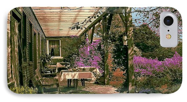 Tea Garden IPhone Case by John Selmer Sr