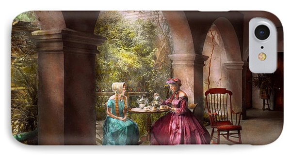Tea Party - Sharing Tea With Grandma 1936 IPhone Case