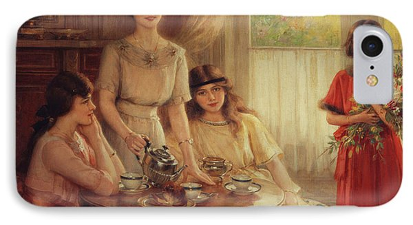 Tea Time IPhone Case by Albert Lynch