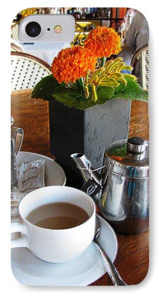 Tea Time Phone Case by Doreen Whitelock