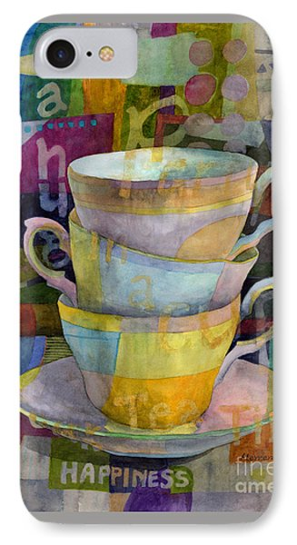 Tea Time IPhone Case by Hailey E Herrera