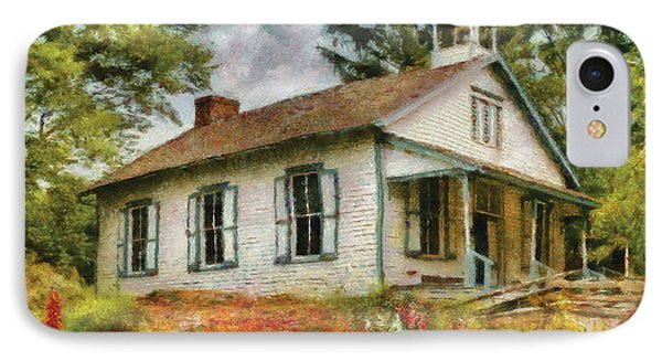 Teacher - The School House IPhone Case by Mike Savad