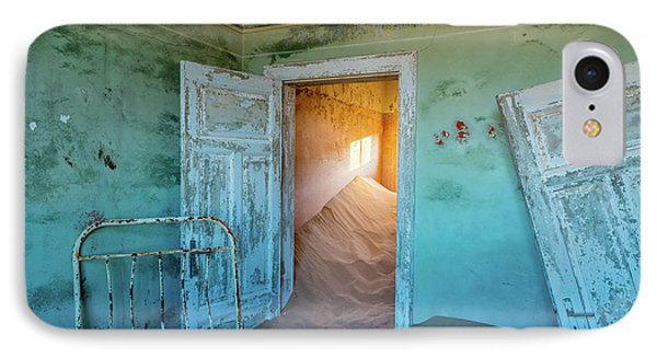 Teal Room IPhone Case by Inge Johnsson