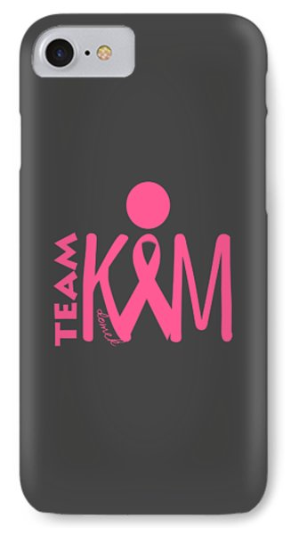 Team Kim IPhone Case by Ted Domek