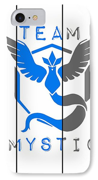 Team Mystic IPhone Case by Marianna Mills