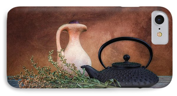 Teapot With Pitcher Still Life IPhone Case by Tom Mc Nemar
