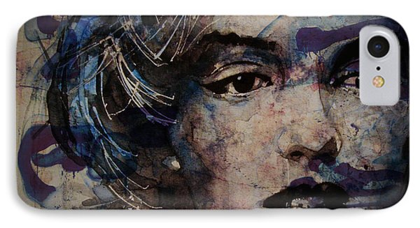Tears Are How My Eye's Speak When  My Lips Can't Describe How Much I Have Been Hurt IPhone Case by Paul Lovering