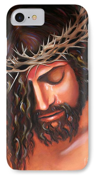 Tears From The Crown Of Thorns Phone Case by Lora Duguay