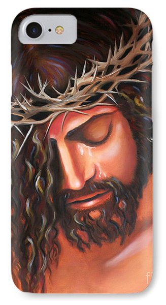 Tears From The Crown Of Thorns IPhone Case
