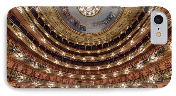 Teatro Colon Performers View IPhone 7 Case