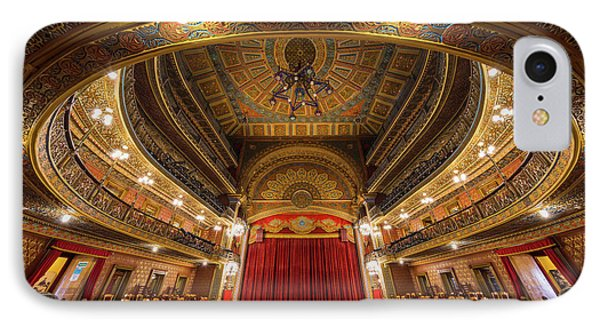 Teatro Juarez Stage IPhone Case