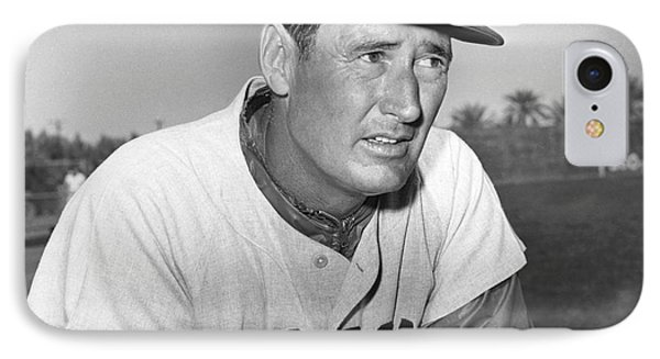 Ted Williams (1918-2002) IPhone Case by Granger