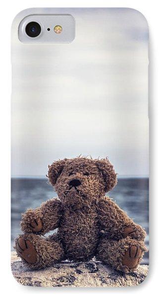 Teddy Bear At The Sea IPhone Case by Joana Kruse