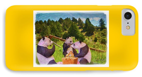 Teddy Bear Picnic IPhone Case