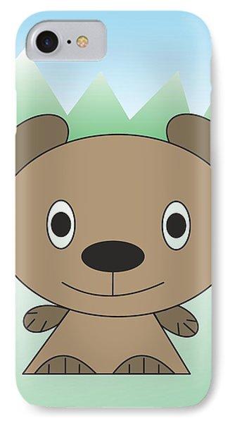 teddy  bear - My WWW vikinek-art.com IPhone Case