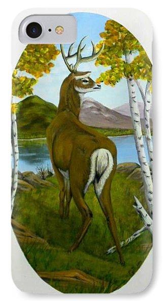Teddy's Deer IPhone Case by Sheri Keith
