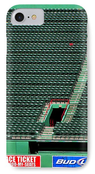 Ted's Red Seat In Context IPhone Case by Bart Blumberg