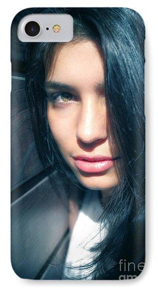 Teen Portrait IPhone Case by Carlos Caetano