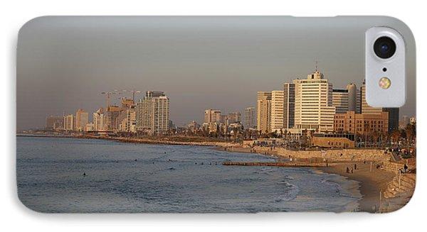 Tel Aviv Coast. IPhone Case by Shlomo Zangilevitch