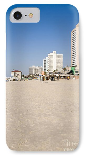 Tel Aviv Coastline Phone Case by Ilan Rosen