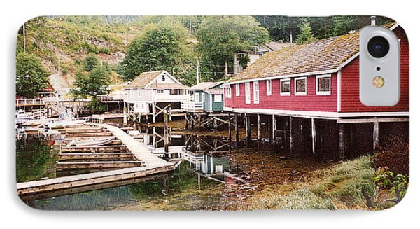 Telegraph Cove 2 Photograph IPhone Case by Kimberly Walker