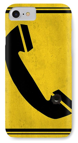 Telephone Sign IPhone Case