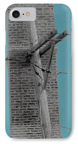 Telephonic 1 IPhone Case by Todd Sherlock
