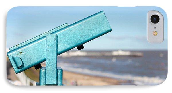 Telescope IPhone Case by Tom Gowanlock