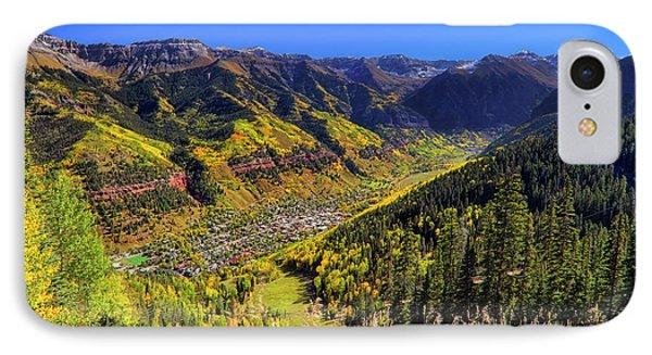 Telluride In Autumn - Colorful Colorado - Landscape Phone Case by Jason Politte
