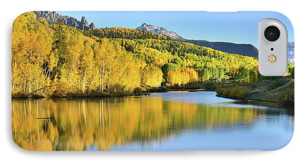 IPhone Case featuring the photograph Telluride Mountain Lake by Ray Mathis