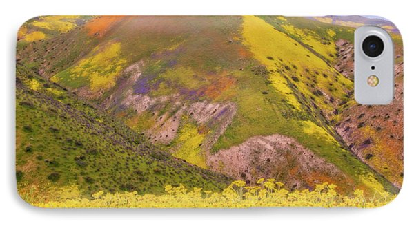 IPhone Case featuring the photograph Temblor Range Color by Marc Crumpler