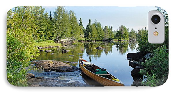 Temperance River Portage IPhone Case by Larry Ricker