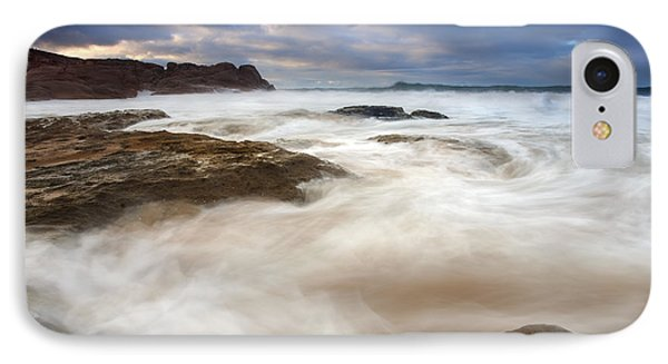 Tempestuous Sea IPhone Case by Mike  Dawson