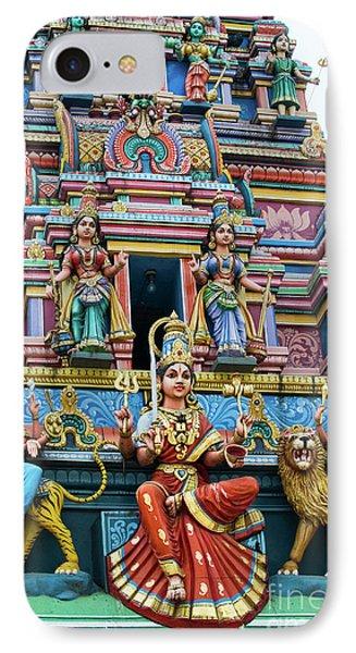 Temple Gopuram IPhone Case by Tim Gainey