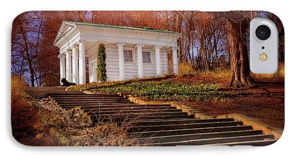 Temple Of Diana Lazienki Park Warsaw  IPhone Case