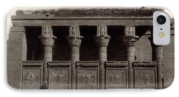 Temple Of Hathor, Early 20th Century IPhone Case