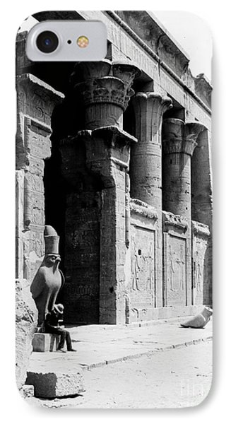 Temple Of Horus At Edfu, 20th Century IPhone Case by Science Source