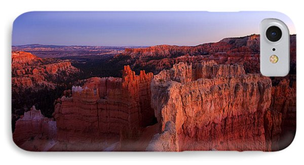 Desert iPhone 7 Case - Temple Of The Setting Sun by Mike  Dawson