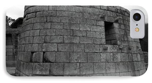 Temple Of The Sun, Machu Picchu, Peru IPhone Case by Aidan Moran