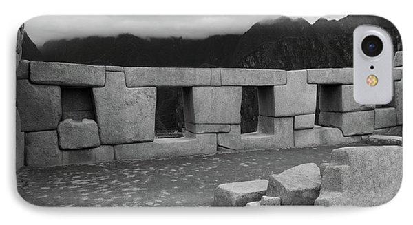 Temple Of The Three Windows IPhone Case by Aidan Moran