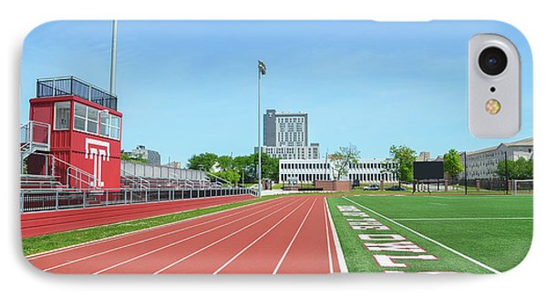 Temple Owls - Dan And Shelley Boyce Track IPhone Case by Bill Cannon