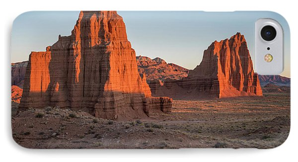 Temples Of The Sun And Moon IPhone Case by James Udall