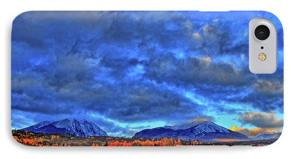 IPhone Case featuring the photograph Ten Mile Of Fall Colors by Scott Mahon