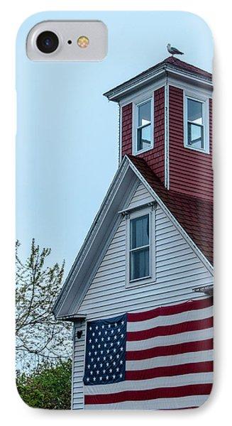 Tenants Harbor Wayside Inn IPhone Case by Daniel Hebard