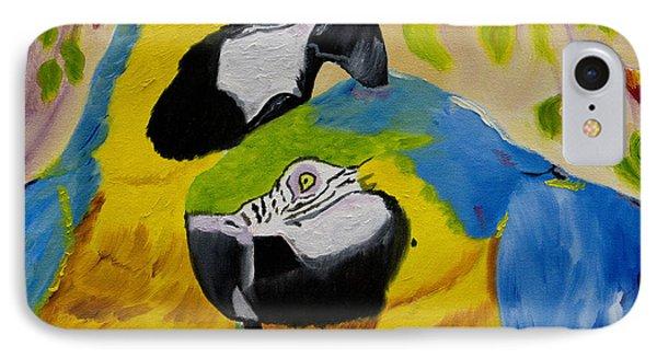 Tender Birdsong  IPhone Case by Meryl Goudey