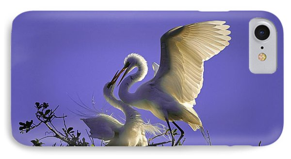 Tender Love IPhone Case by Kenneth Albin