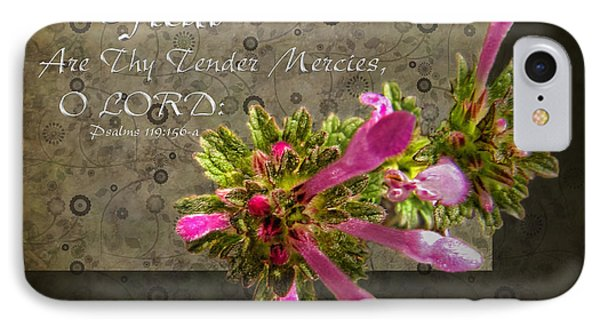 Tender Mercies IPhone Case by Debbie Portwood