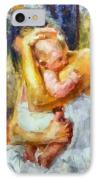 Tender Moment IPhone Case by Dragica  Micki Fortuna